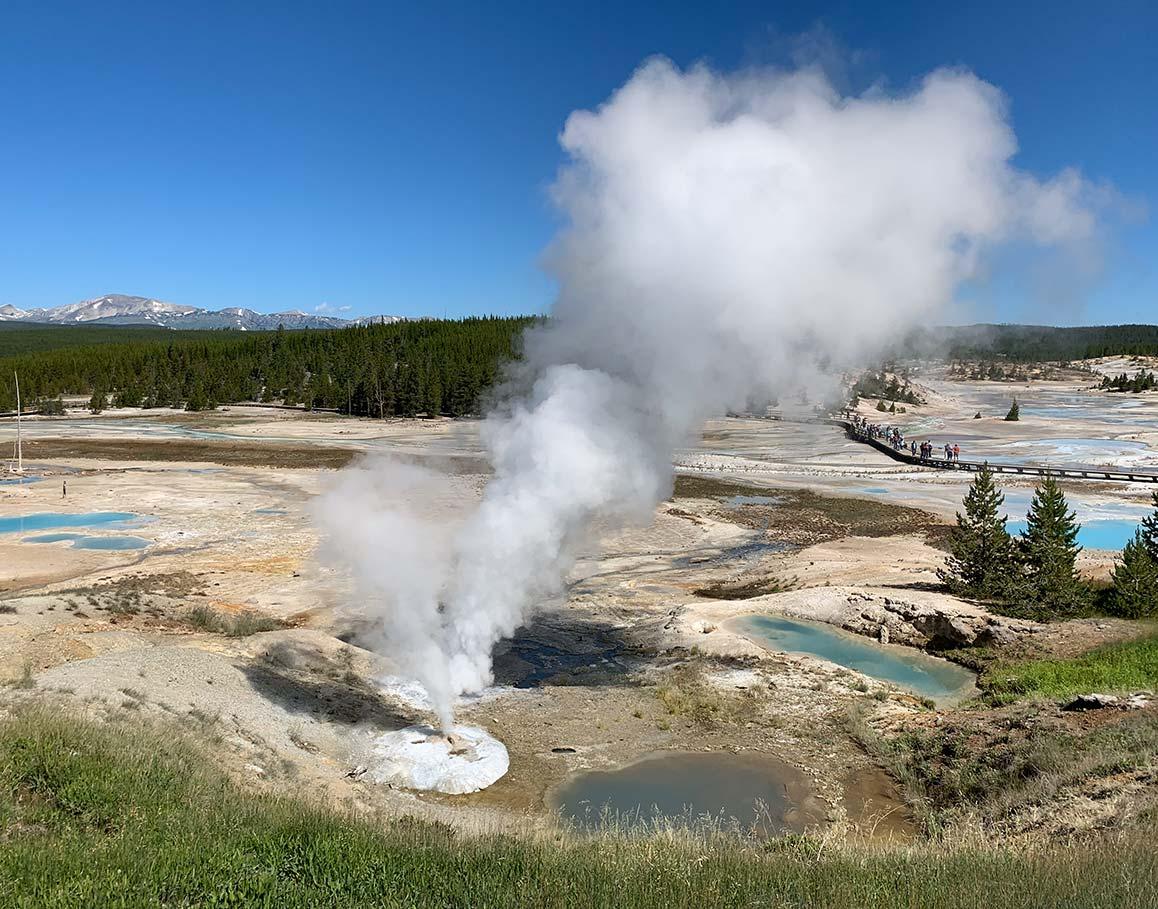 Woman Burned In Yellowstone